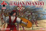 RB72100 Italian Infantry. Set 2. 16 centry