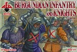 RB72110 Burgundian infantry and knights (2 set). 15 century