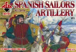RB72104 Spanish Sailors Artillery  16-17 centry