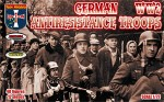 ORI72054 German antiresistance troops. WW2
