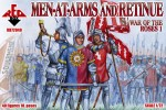 RB72040 War of the Roses 1. Men-at-Arms and Retinue