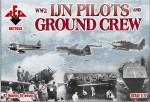 RB72053 WW2 IJN pilots and ground crew