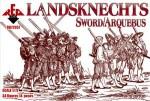 RB72057Landsknechts (Sword/Arquebus)  16th century