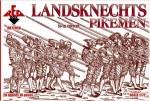 RB72058 Landsknechts Pikemen  16th century